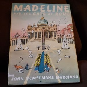 Signed Madeline & The Cats of Rome John Marciano